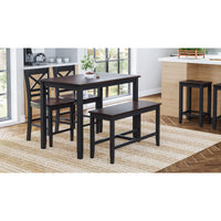 Black Asbury Park - Pub Height Style - Lifestyle Furniture