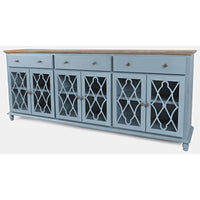Aurora Hills Accent Cabinet - Lifestyle Blue - Lifestyle Furniture