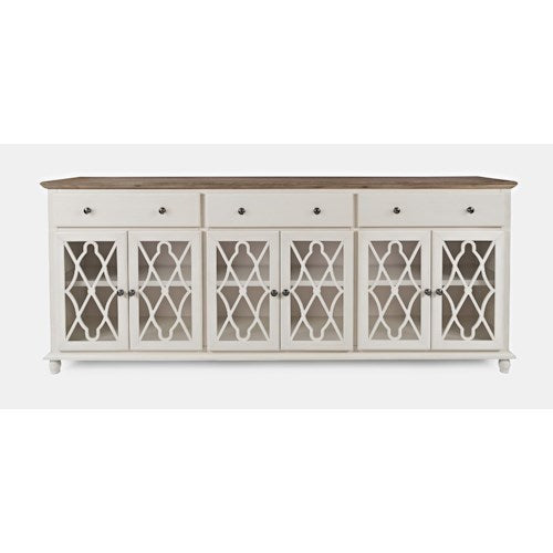 Aurora Hills Accent Cabinet - Vintage White - Lifestyle Furniture