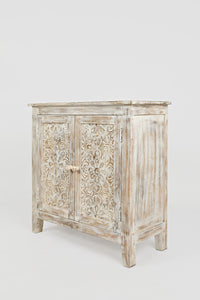 Hand Carved Accent Chest - Lifestyle Furniture