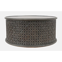 Global Archive Decker Coffee Table - Stonewall Grey - Lifestyle Furniture