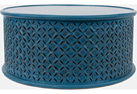 Global Archive Decker Coffee Table - Blue - Lifestyle Furniture