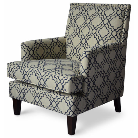 Midnight Aubrey Accent Chair - Lifestyle Furniture