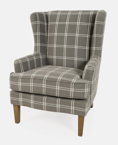 Lacroix Accent Chair - Graphite - Lifestyle Furniture