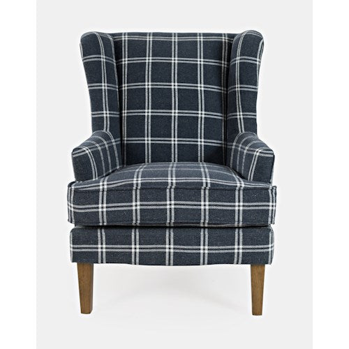 Lacroix Accent Chair - Navy - Lifestyle Furniture