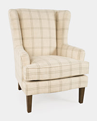 Lacroix Accent Chair - Parchment - Lifestyle Furniture