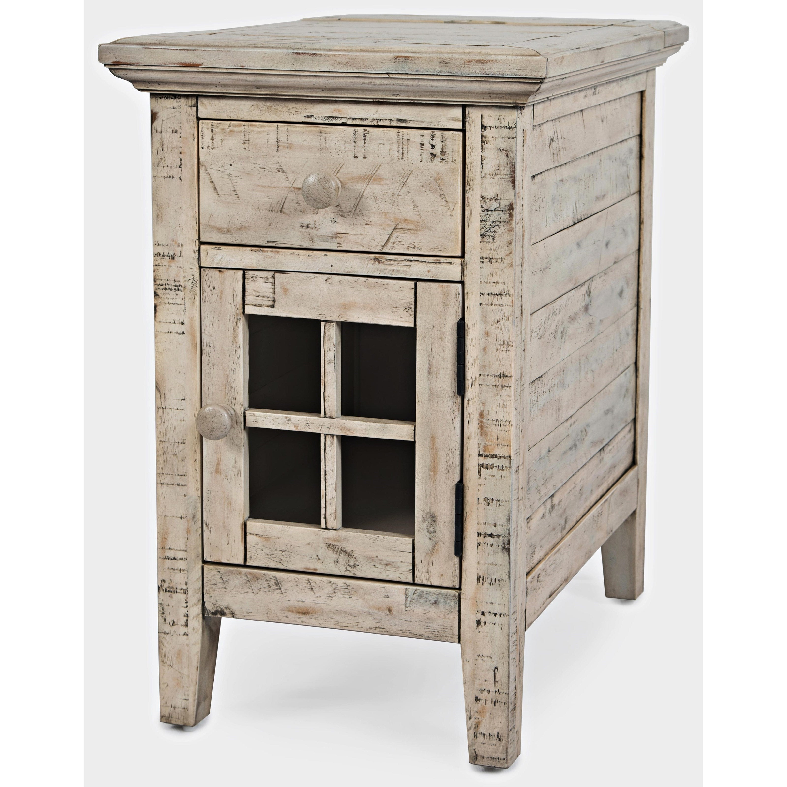 Rustic Shores Power Chairside Table Lifestyle Furniture