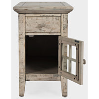 Rustic Shores Power Chairside Table - Lifestyle Furniture