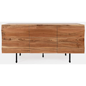 Natural Forest 3 Door Accent Cabinet