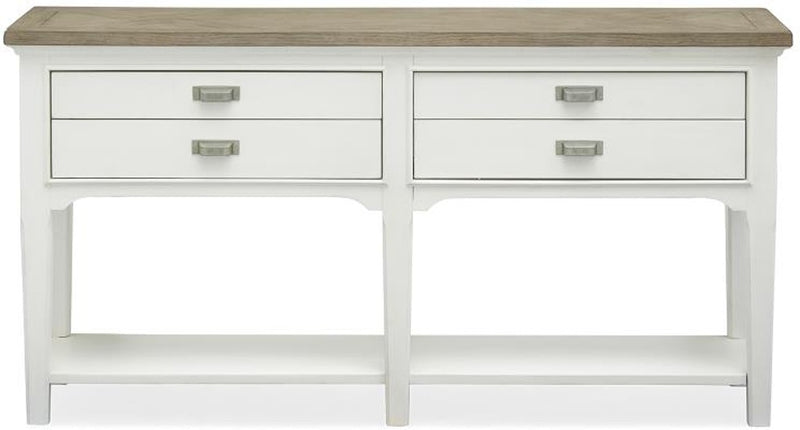 Cottage Sofa Table - Pearl White - Lifestyle Furniture