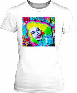 Graffiti Portrait Women's T-Shirt