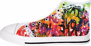 BON LOVE 2 High Top Sneakers