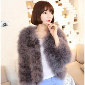 Faux Fur Coats Women New Thicken Women Long Sleeve Faux Fur Jacket Plus Size Women Streetwear Fur Outerwear