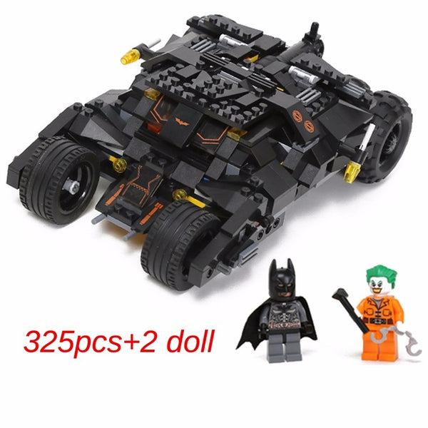 325pcs Batmobile Model Building Blocks