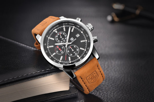 Quartz Chronograph Sports Watch