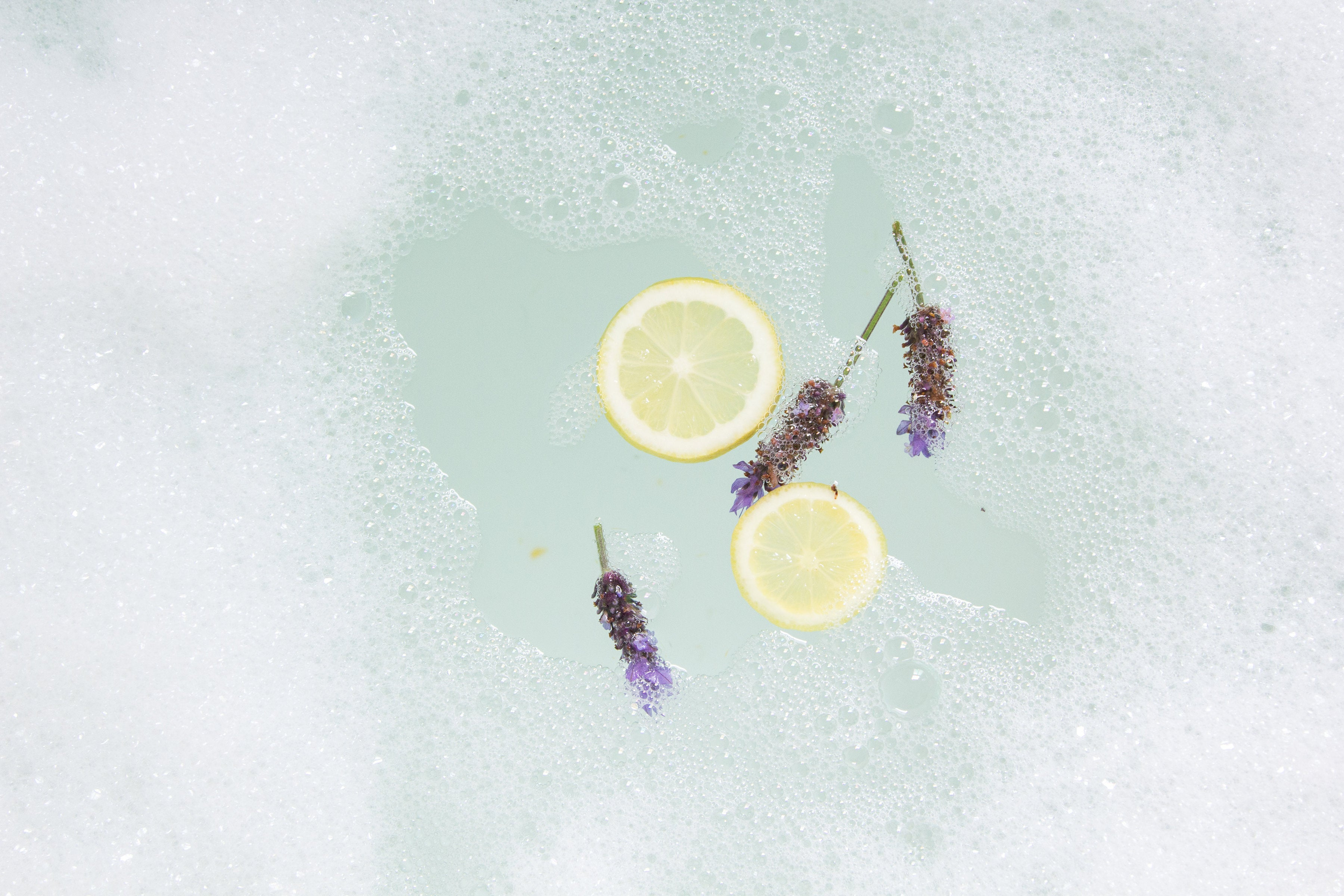 Lavender Gin Bubble Bath and Shower Wash