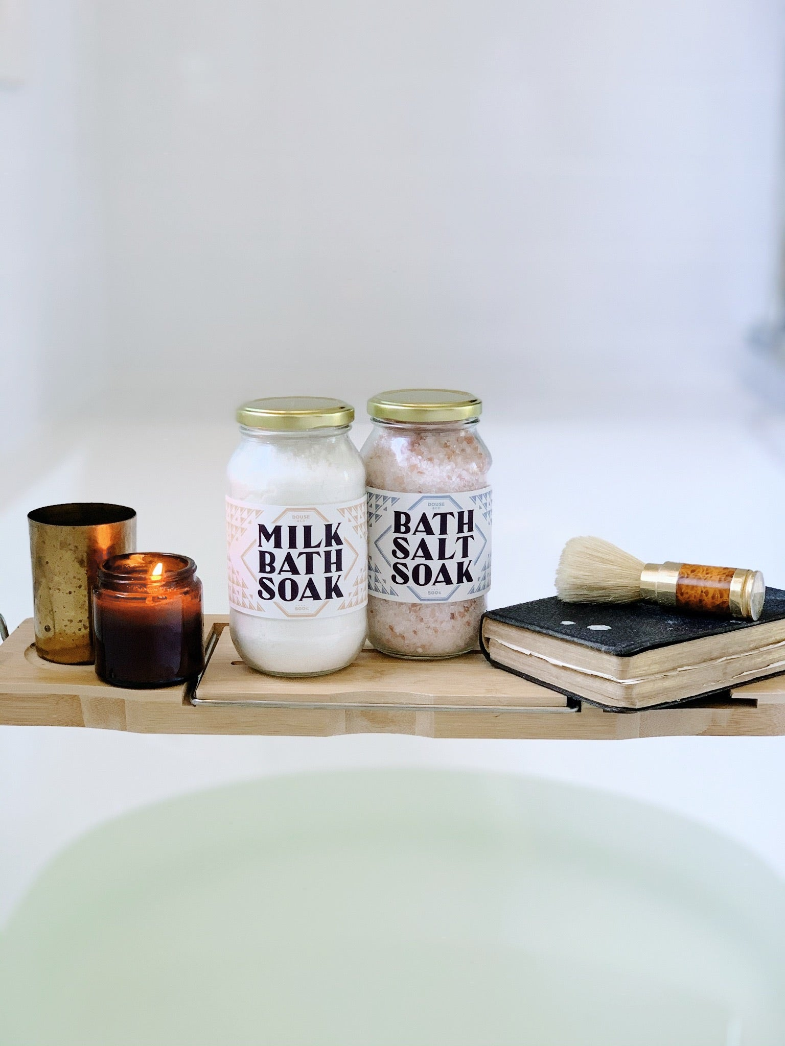 Coconut Milk Bath Salt Soak - Softens, Soothes & Hydrates - 500g
