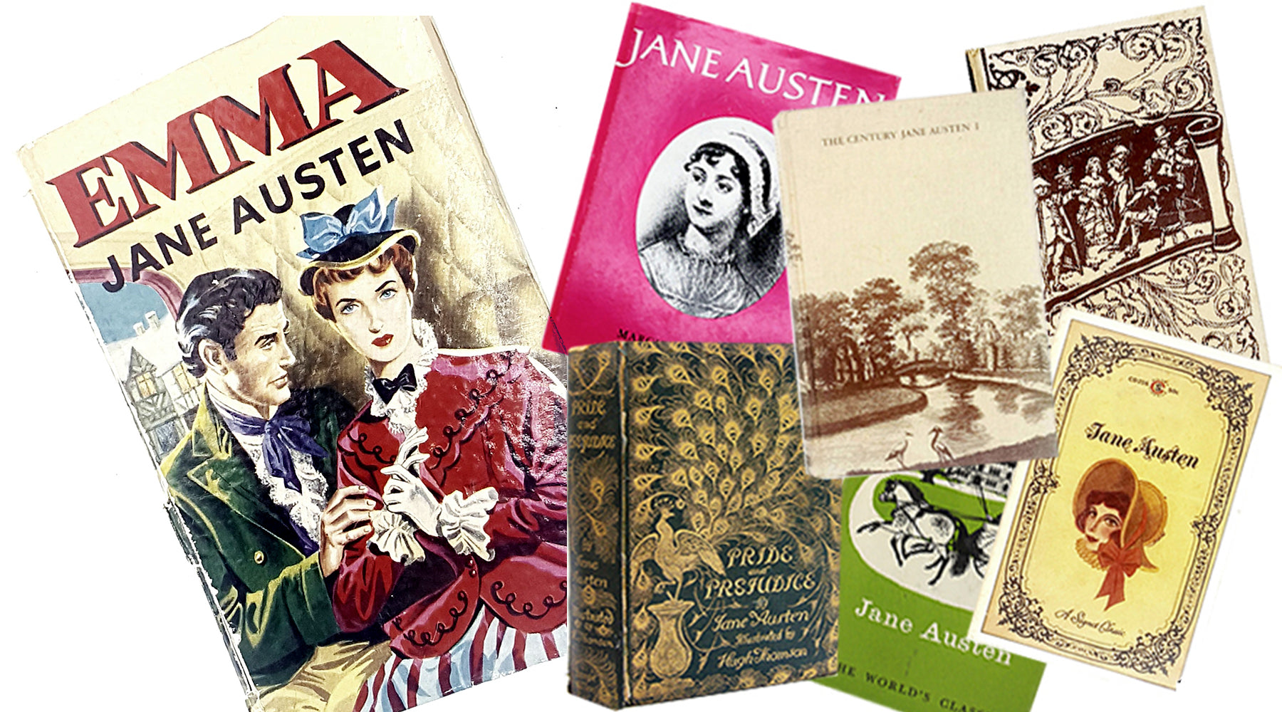 Can you tell a Jane Austen book by its cover?