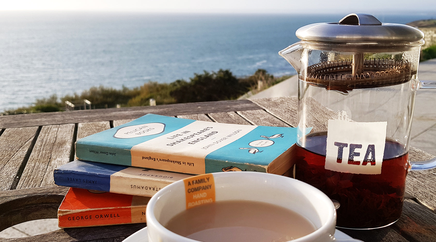 Relaxing Reads with a Cup of Tea