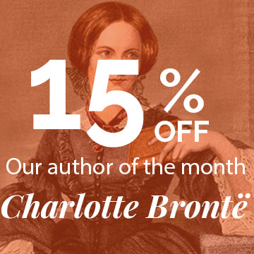 Sign up for your 15% OFF Charlotte Brontë Books