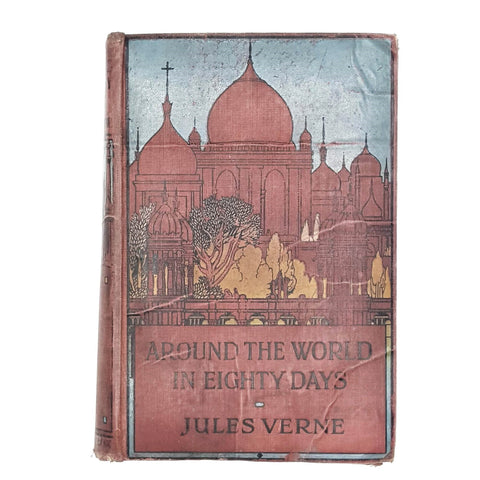 ILLUSTRATED AROUND THE WORLD IN EIGHTY DAYS BY JULES VERNE