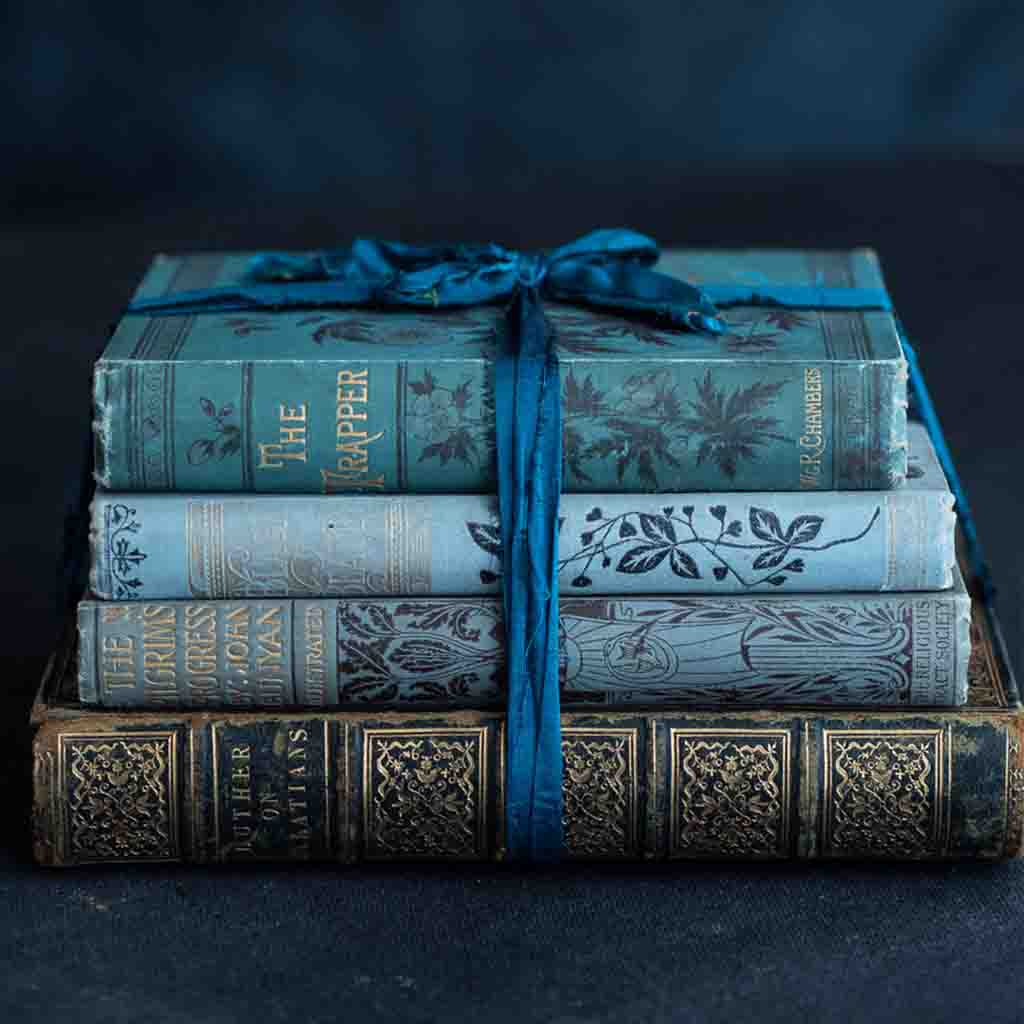 shop our prussian blue book collection today
