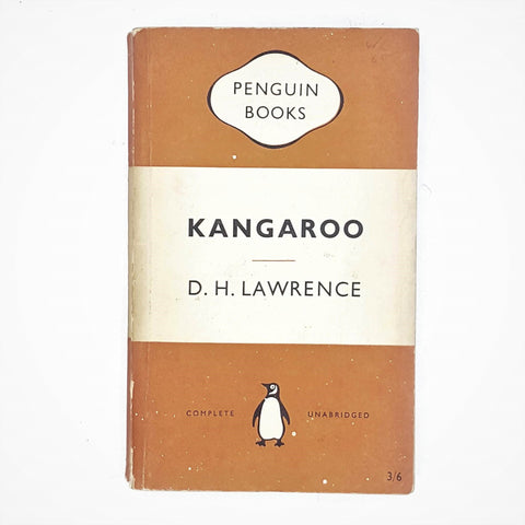 KANGAROO BY D. H. LAWRENCE 1954