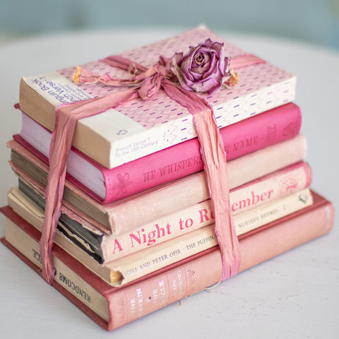 Shop pink books?
