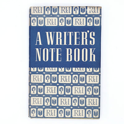 A Writer's Note Book by Somerset Maugham 1951
