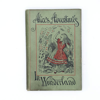 Lewis Caroll's Rare Alice's Adventures in Wonderland 1896