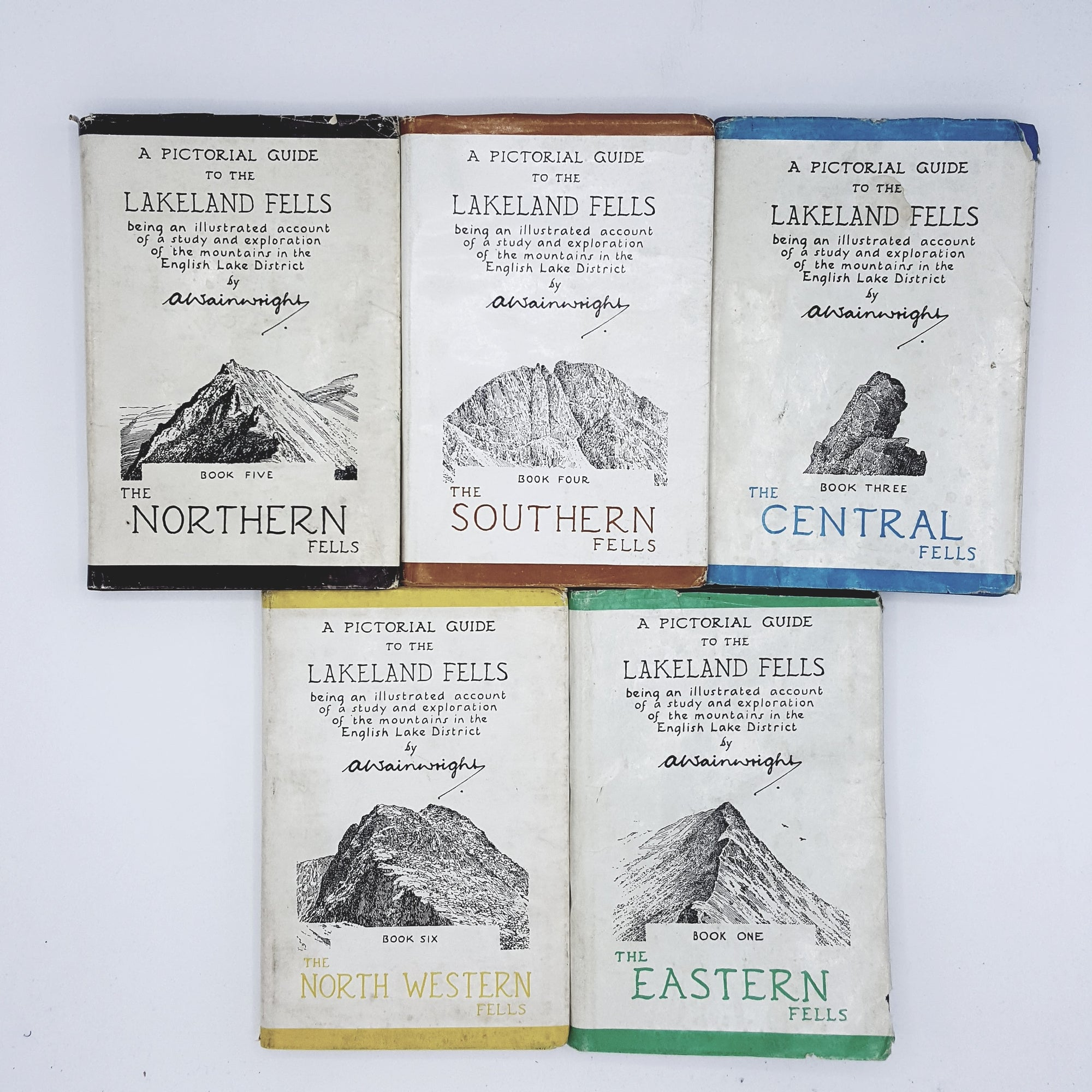 A Pictorial Guide to the Lakeland Fells Collection 1954 - 1967