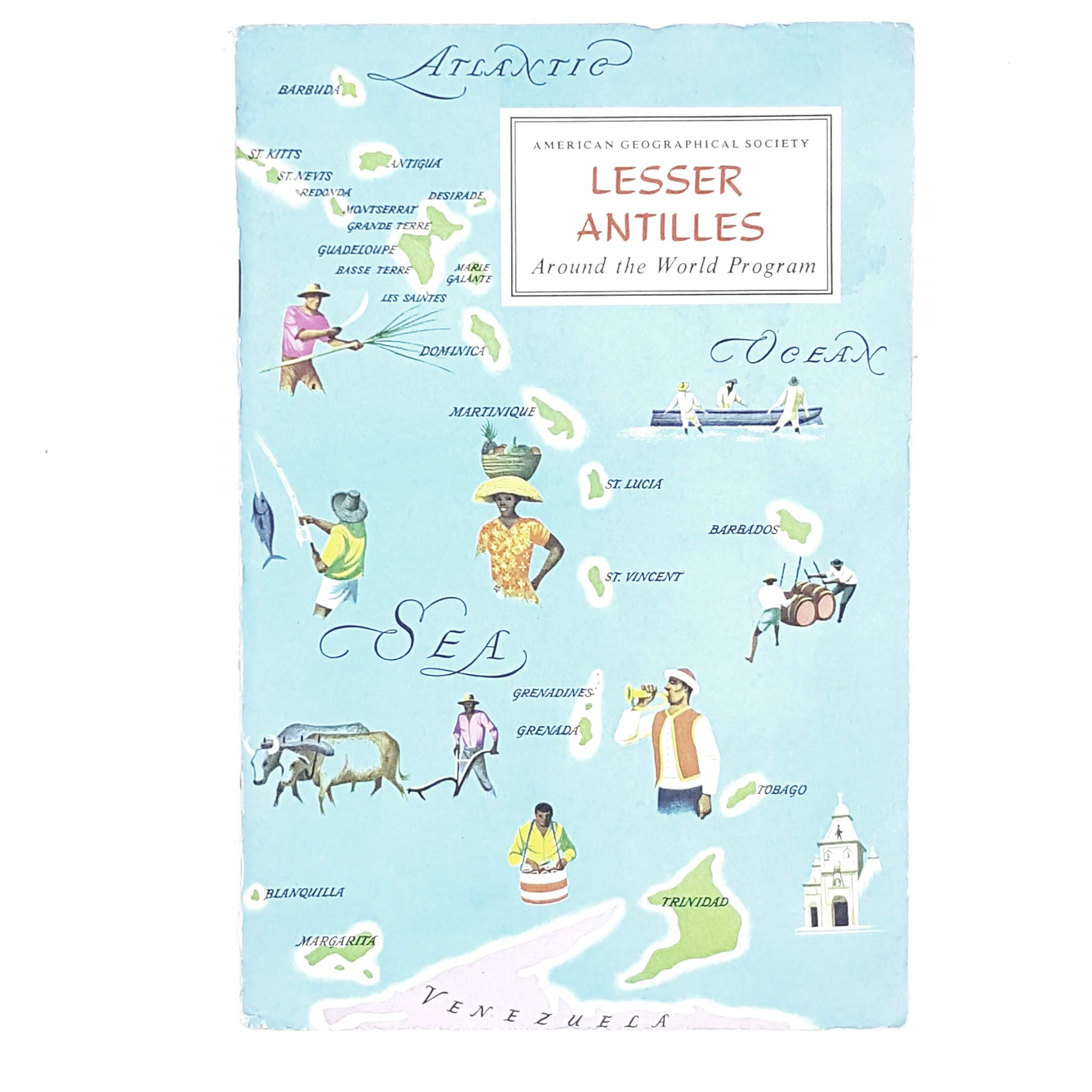 Lesser Antilles by Donald R. Dyer 1964