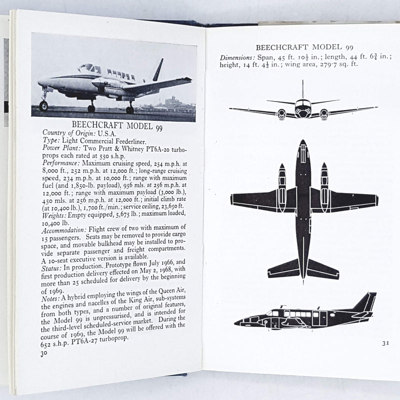 The Observer's Book of Aircraft by William Green 1969