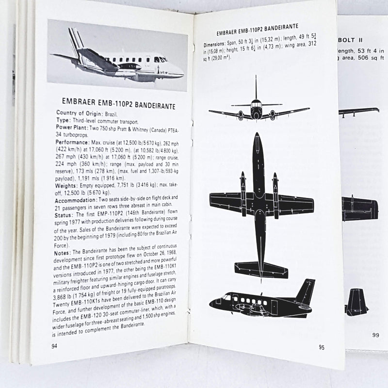 The Observer's Book of Aircraft by William Green 1979