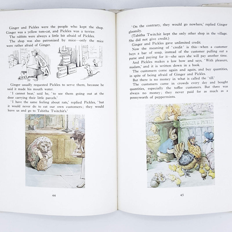 First Edition Beatrix Potter's Complete Adventures of Tom Kitten and His Friends 1984