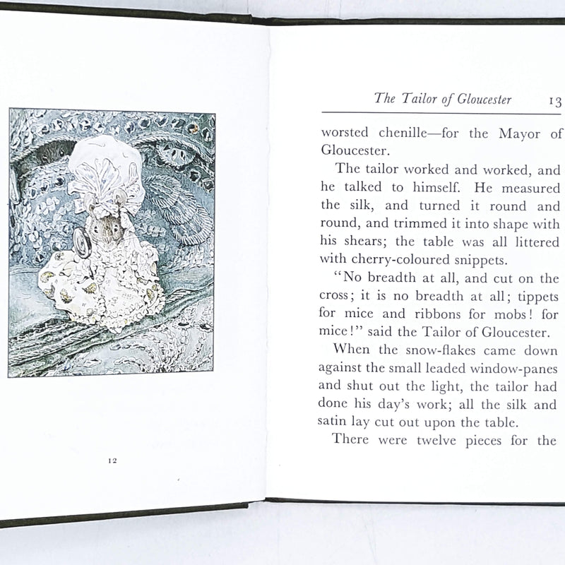 Illustrated Beatrix Potter's The Tailor of Gloucester 1989