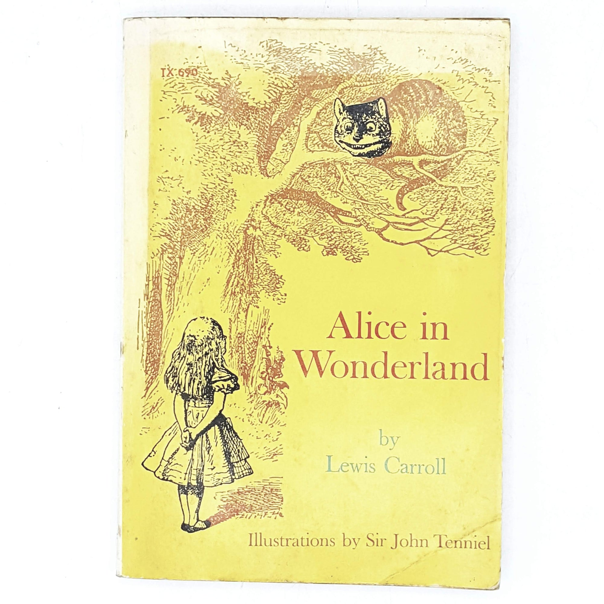 Illustrated Lewis Carroll's Alice in Wonderland 1974