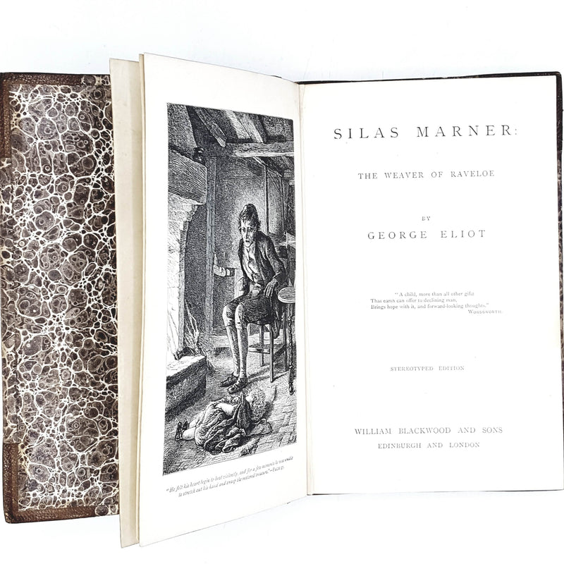 George Eliot's Silas Marner Blackwood and Sons ltd