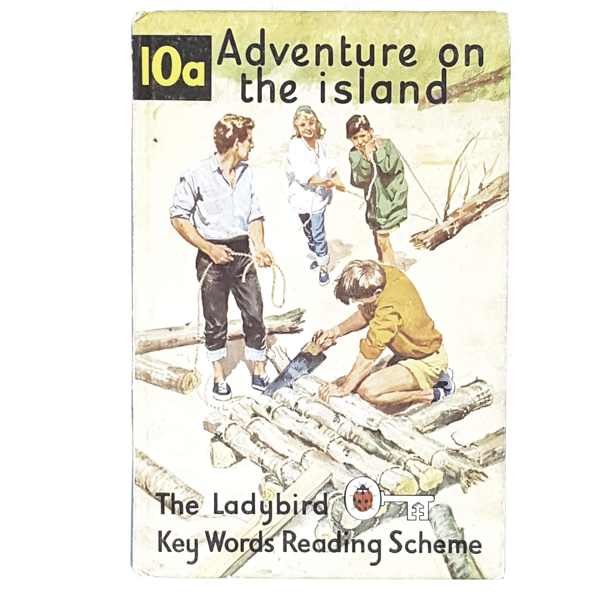 First Edition Ladybird: Adventure on the Island 1966