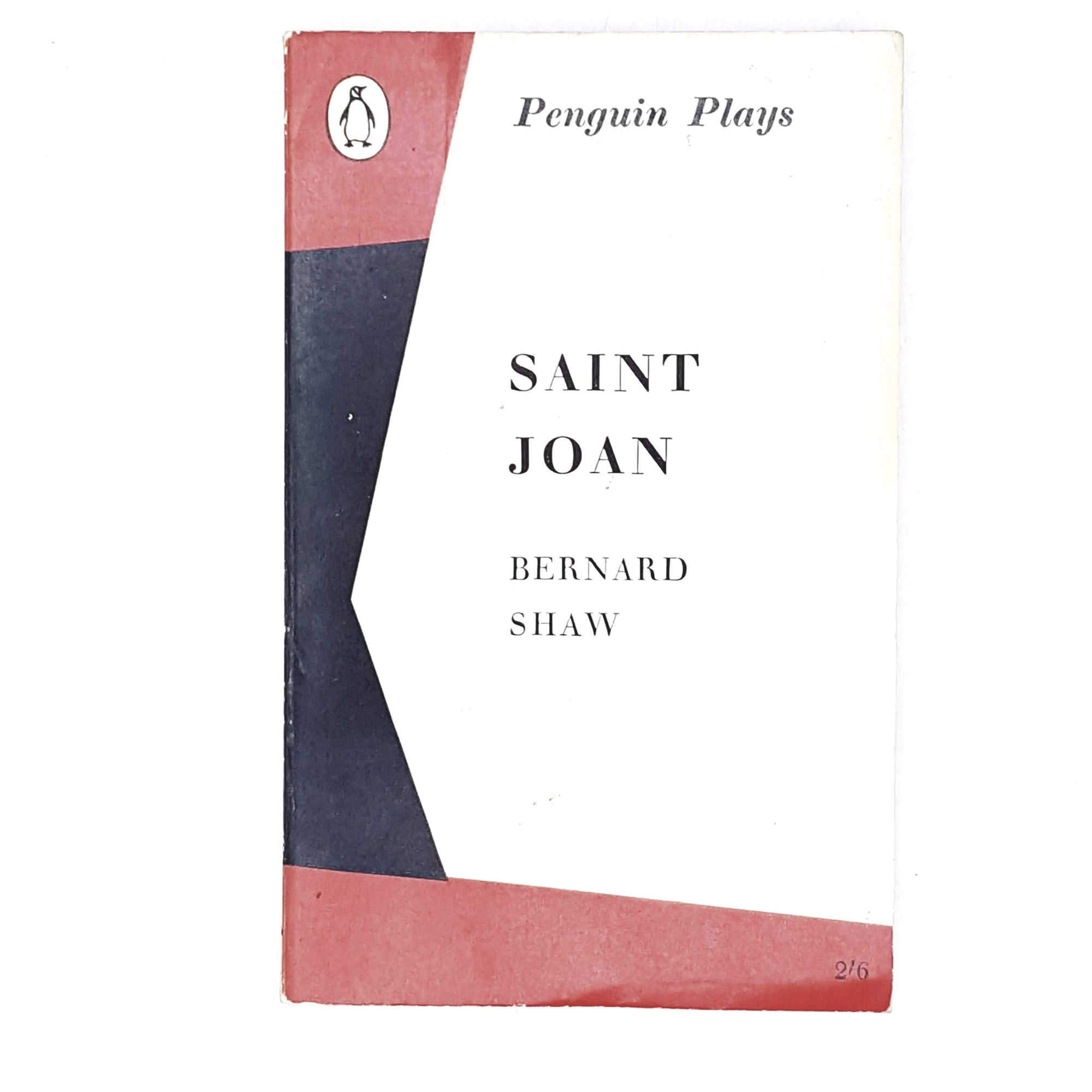 Vintage Penguin Saint Joan by Bernard Shaw 1964