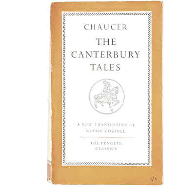 The Canterbury Tales by Geoffrey Chaucer 1951