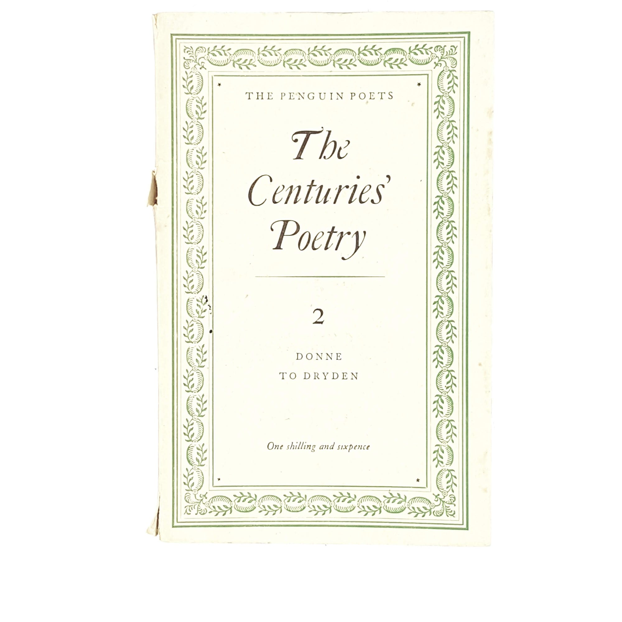 First Edition Penguin The Centuries' Poetry II 1949