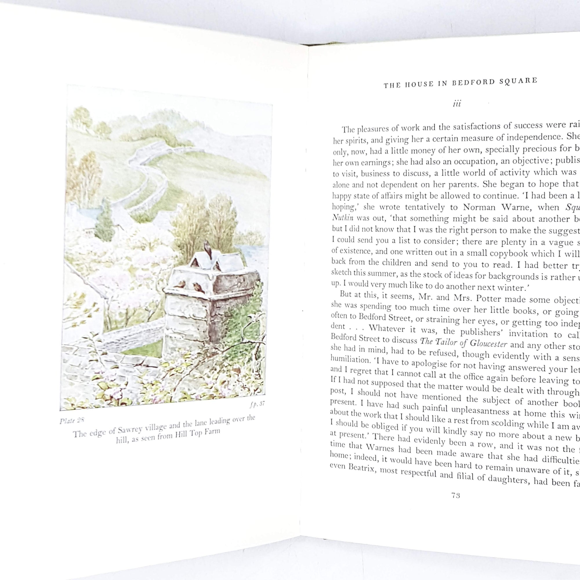 Beatrix Potter's Tale: A Biography by Margaret Lane 1968
