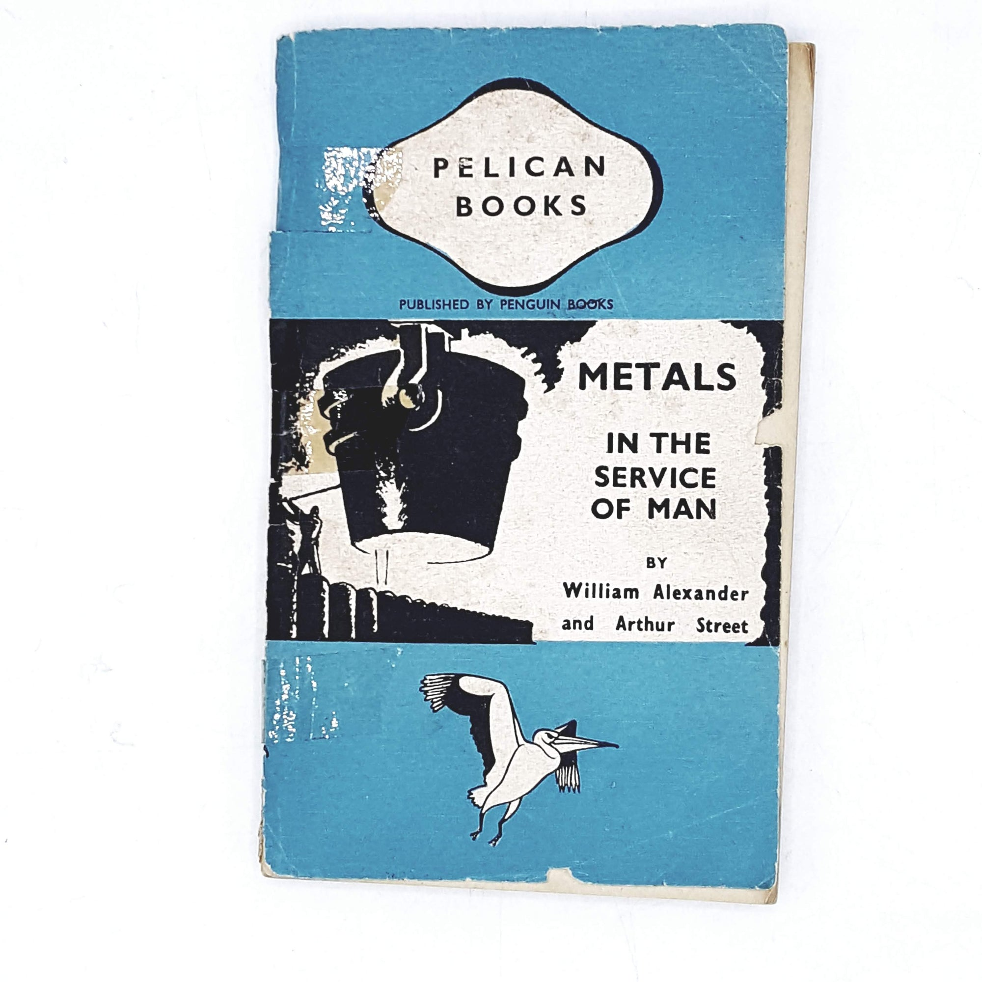 first-edition-pelican-blue-metals-in-the-service-of-man-by-william-alexander-and-arthur-street-1944-country-house-library