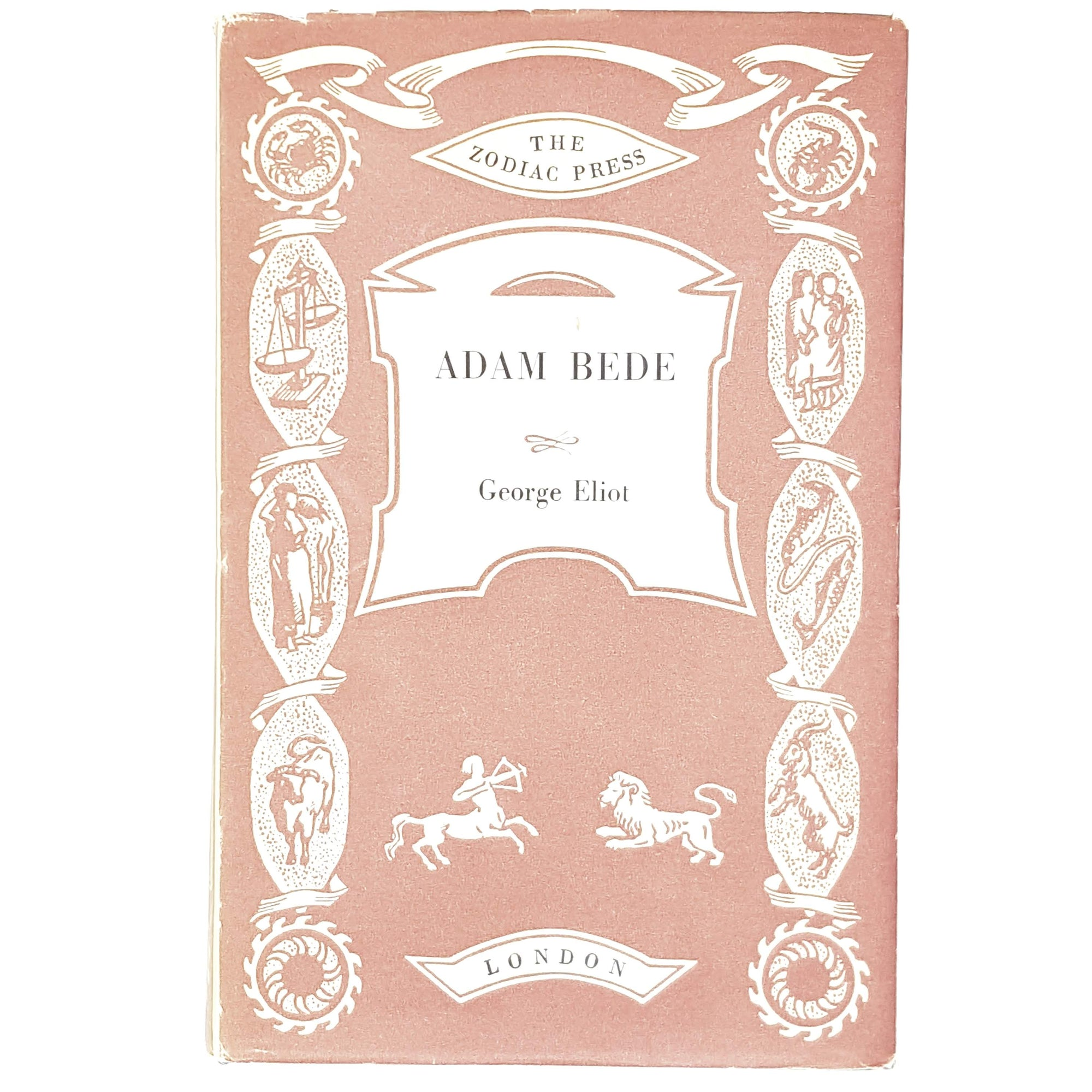George Eliot's Adam Bede 1962