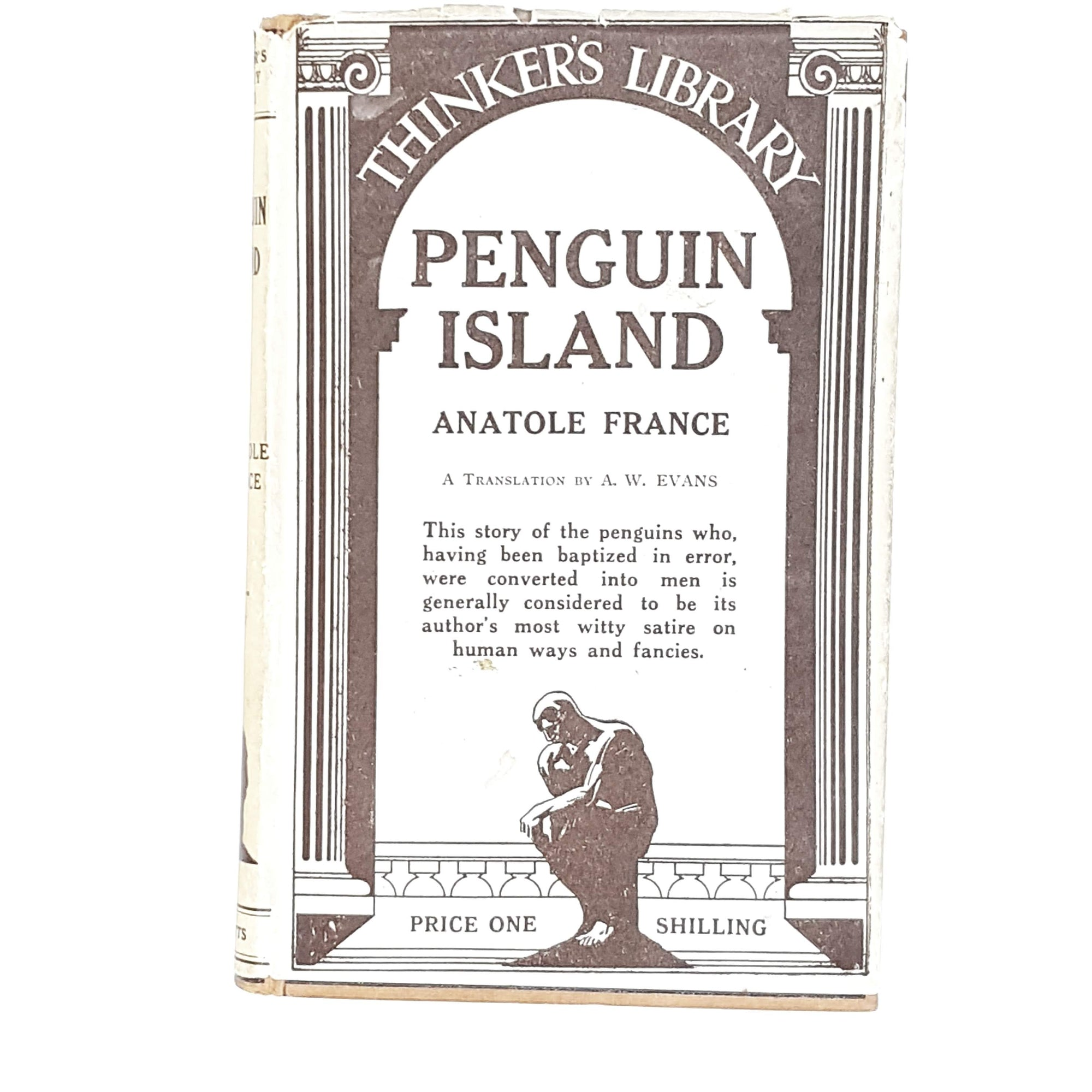 Penguin Island by Anatole France 1934