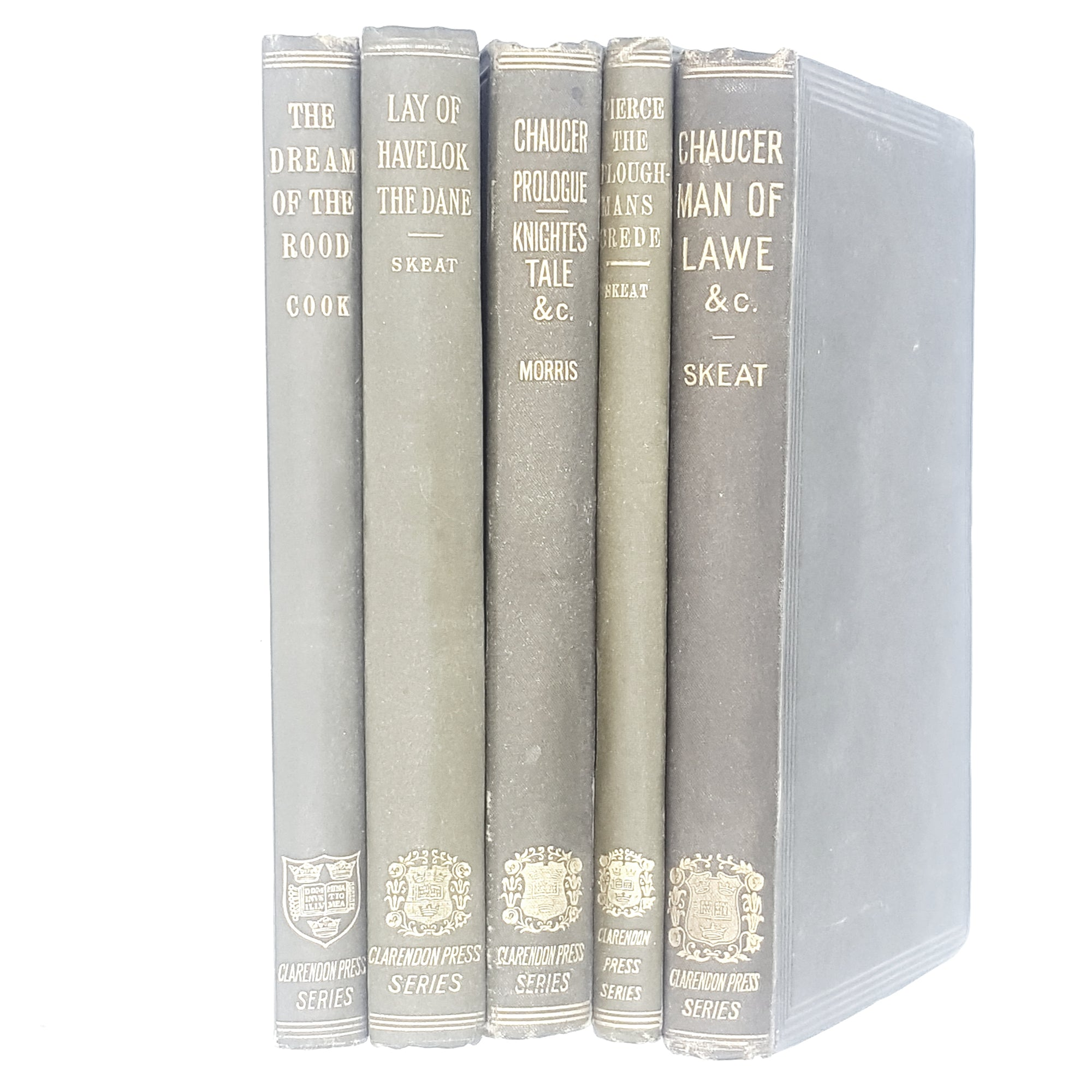 Clarendon Press Series Collection 1897 - 1906