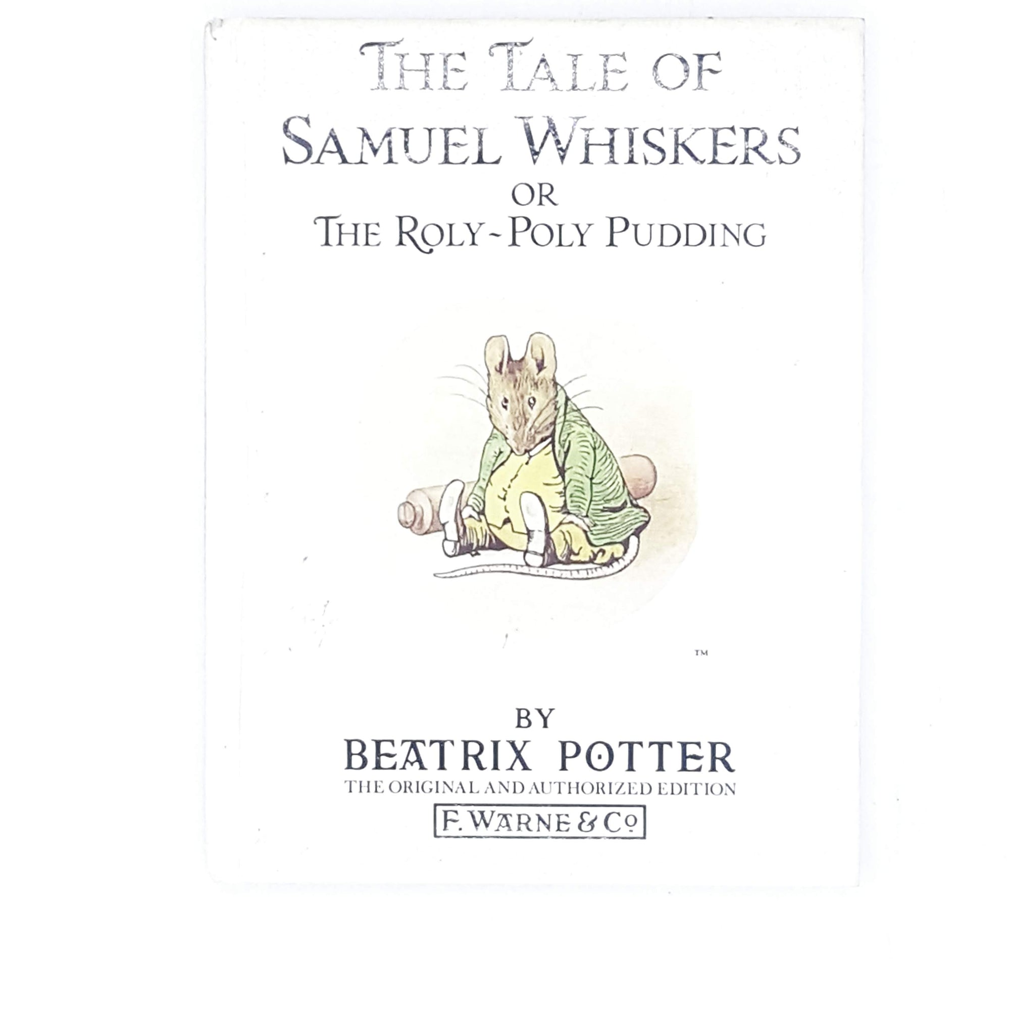 Beatrix Potter's The Tale of Samuel Whiskers 1986
