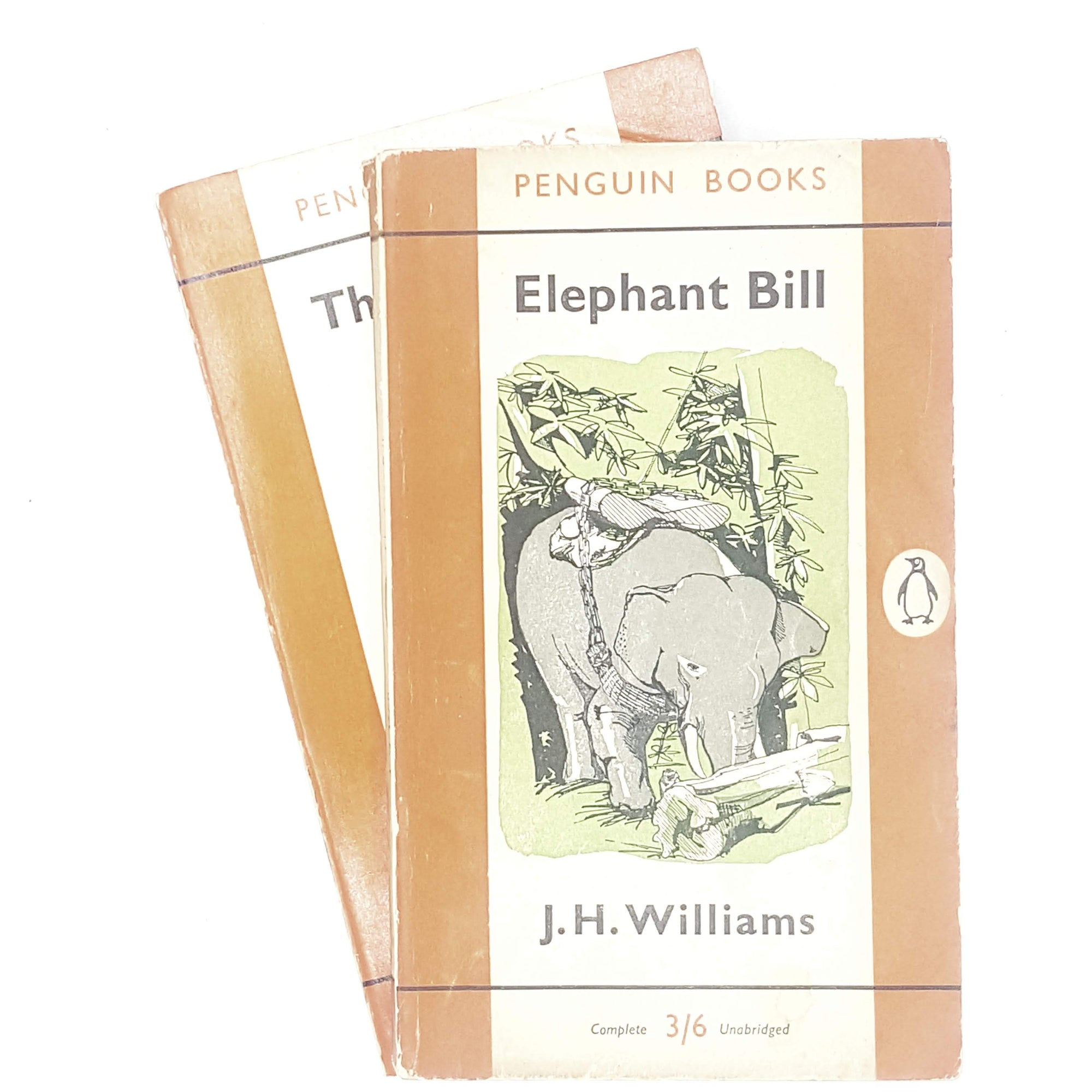 First Edition Penguin Collection J. H. Williams's Elephant Bill and The Spotted Deer 1956 - 1961