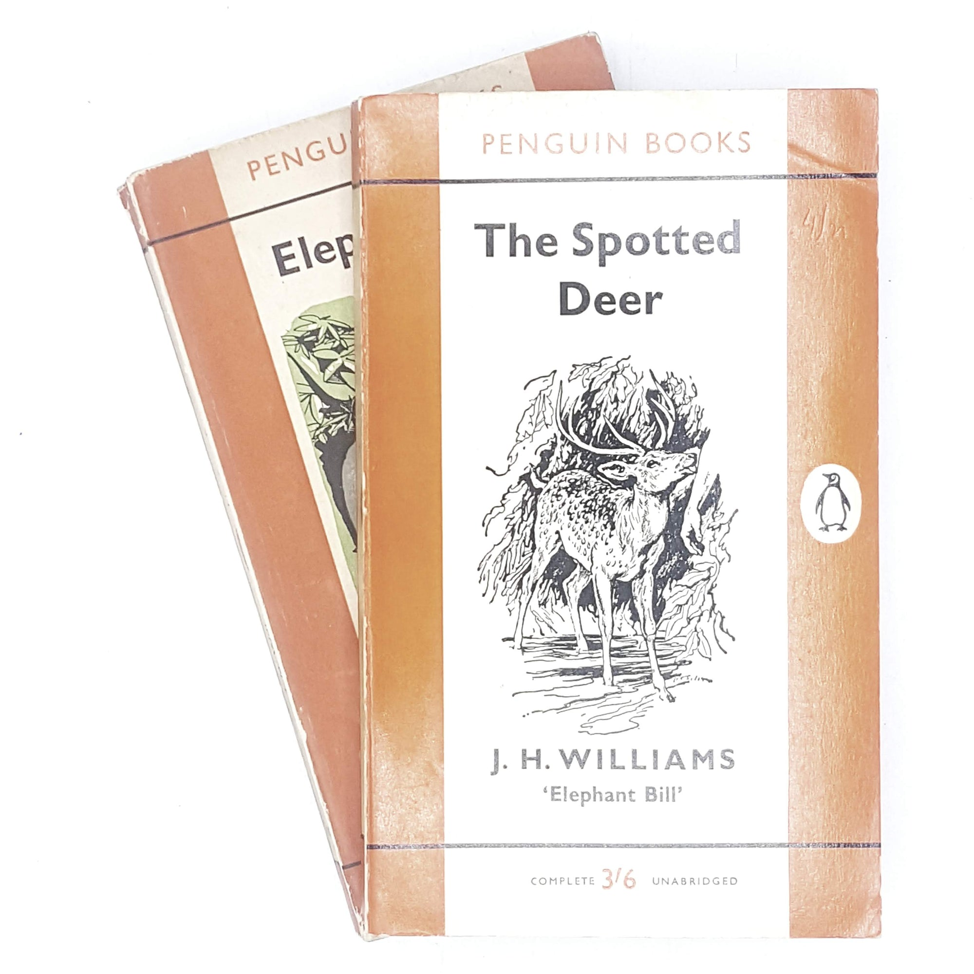 first-edition-penguin-collection-orange-williamss-elephant-bill-and-the-spotted-deer-country-house-library